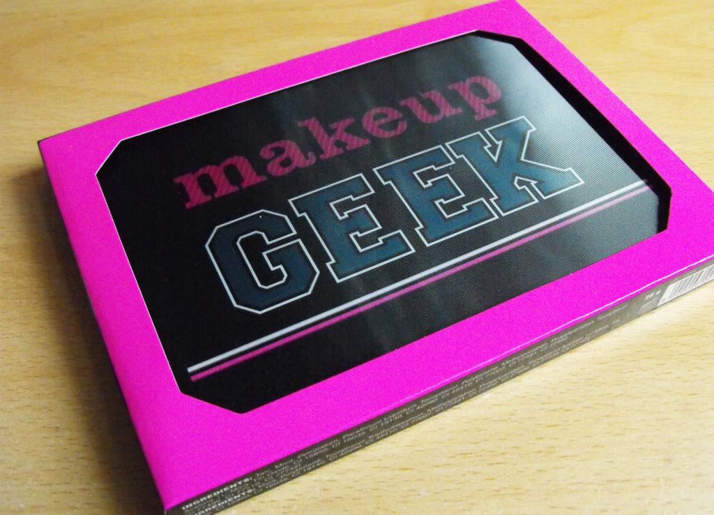 I Heart Make Up, Make Up Geek Palette