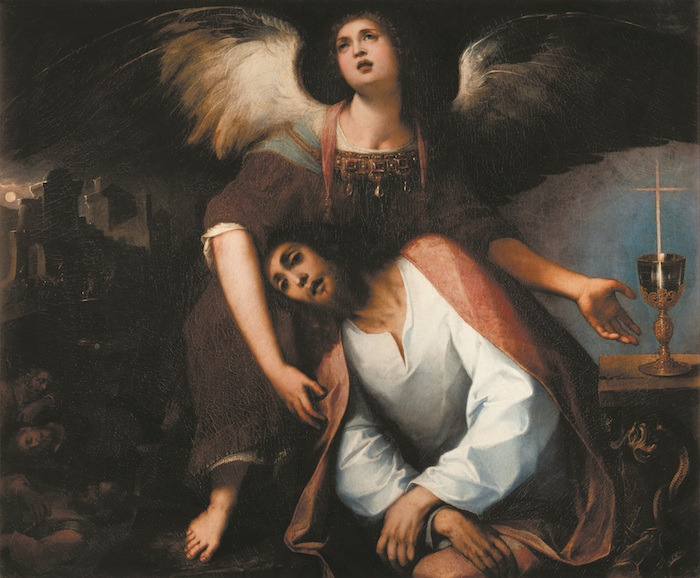 Mostra Jacopo Ligozzi Firenze - Cristo nell'orto degli olivi, 1622