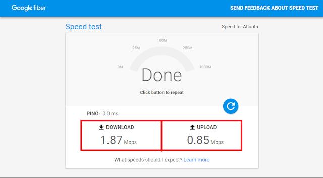 أداة من جوجل لفحص و إختبار سرعة الأنترنت