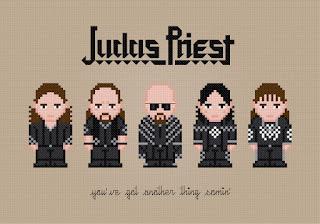 Judas Priest - Cross Stitch PDF Pattern Download