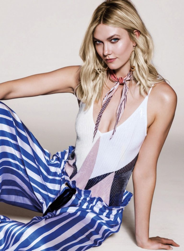 Karlie Kloss Poses in Colorful Styles for Vogue Thailand