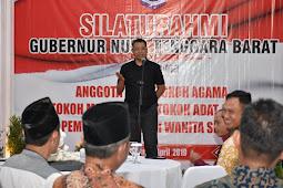 Pasca Pemilu, Gubernur adakan Silaturrahmi dengan komponen masyarakat