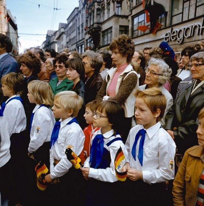 Люди ГДР