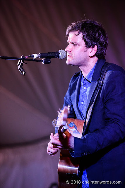 Daniel Champagne at Hillside 2018 on July 13, 2018 Photo by John Ordean at One In Ten Words oneintenwords.com toronto indie alternative live music blog concert photography pictures photos