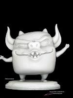 "Dreamworks/Movie Animation Park Studios - ""Gargoyle4""- character maquette by Pierre Rouzier"