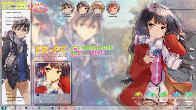 Masamune-kun no Revenge Theme Win 7 by Enji Riz Lazuardi