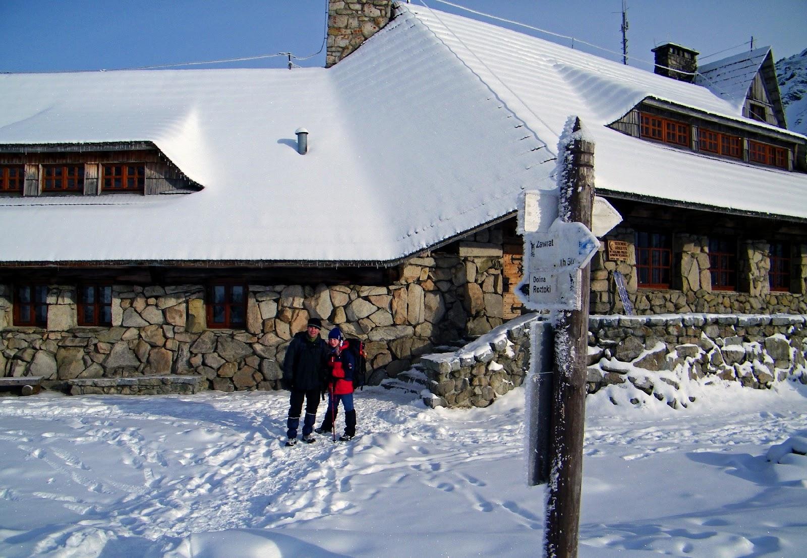 Schronisko w Dolinie Pięciu Stawów Polskich