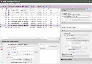 تحويل امتداد FLV to MP3  عن طريق برنامج Pazera