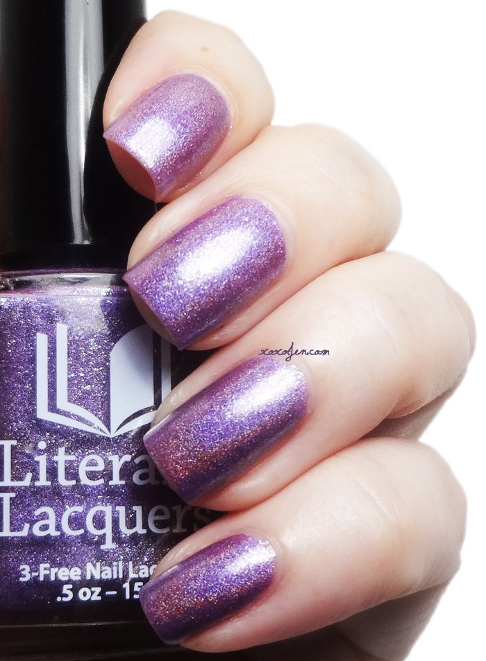 xoxoJen's swatch of Literary Lacquers Dreamsnake