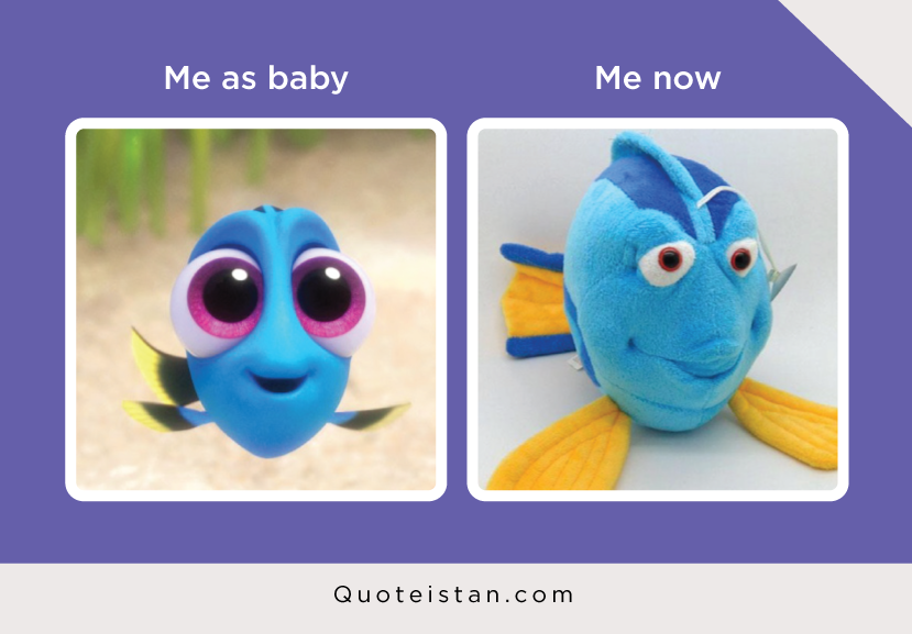 Me as baby Vs Me now