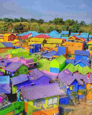 Rumah Unik Kampung Jodipan