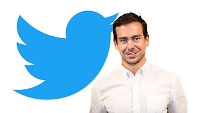 جاك دورسي الرئيس التنفيذي ومؤسس شركة تويتر