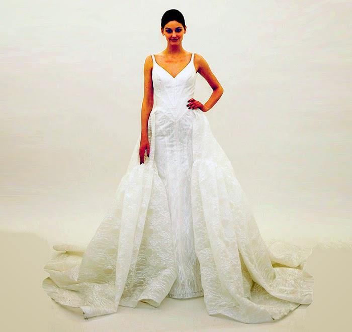 e3c38f9bdd4 MS. FABULOUS  Truly Zac Posen Bridal 2016 fashion design