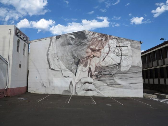 Австралийский уличный художник