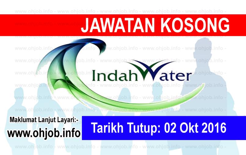 Jawatan Kerja Kosong Indah Water Konsortium (IWK) logo www.ohjob.info oktober 2016