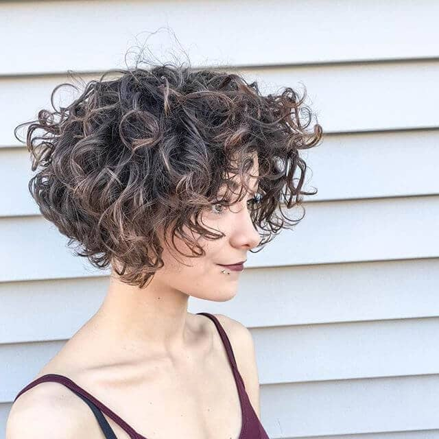 how to style short naturally curly hair