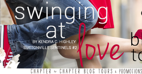 [Blog Tour Review] Swinging at Love (Suttonville Sentinels #2) by Kendra C. Highley