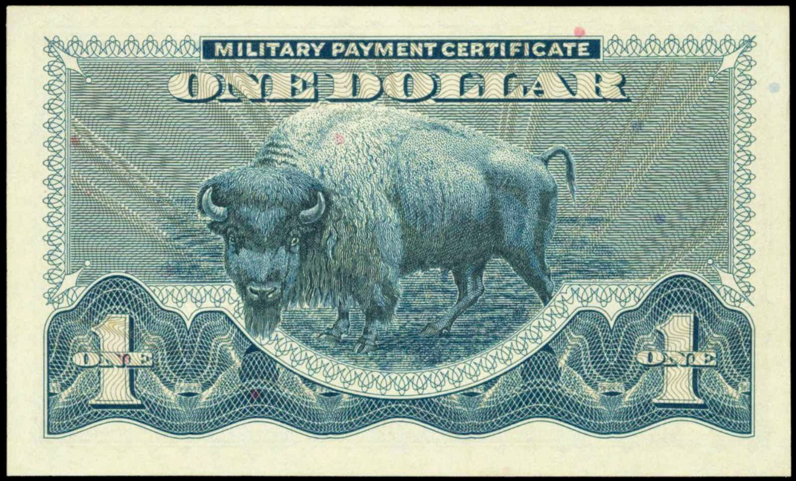 1 Dollar Military Payment Certificate US MPC Series 692