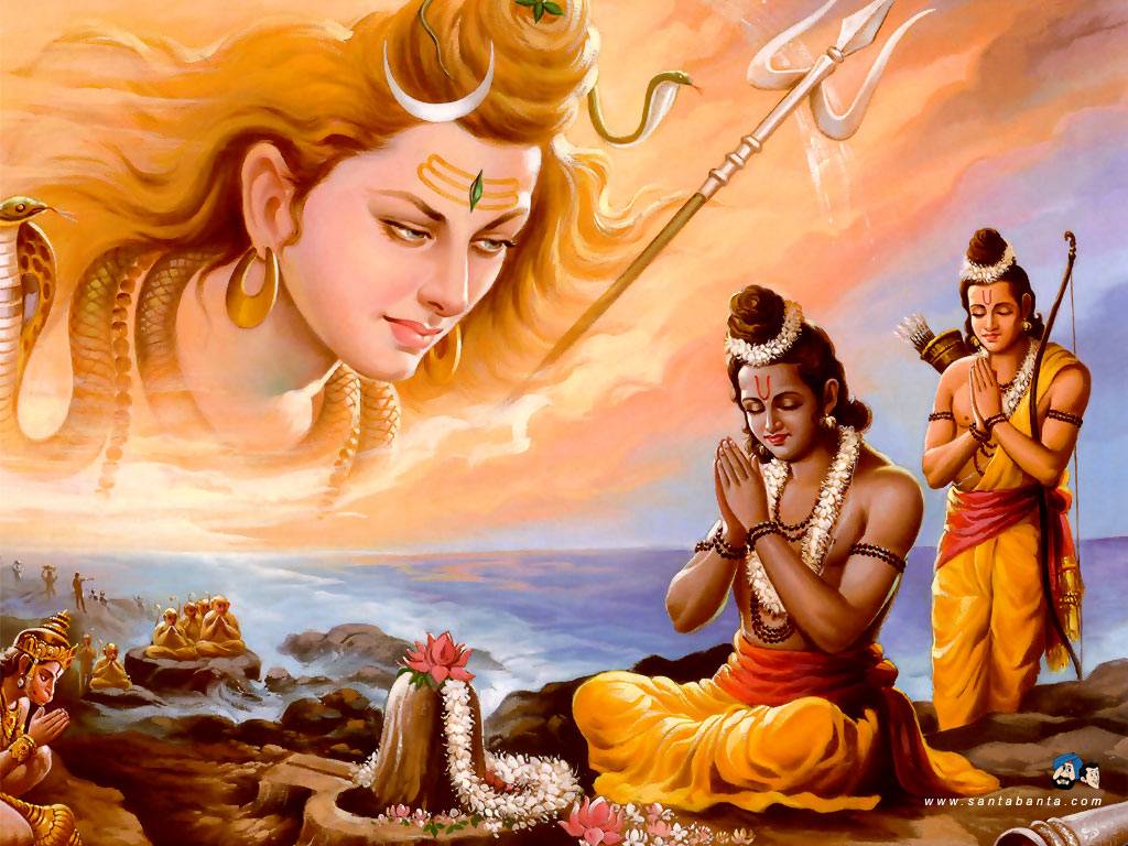 Shiva Wallpaper Hindu Wallpaper Lord Shiva Ji Wallpapers: Hindu God And Goddess Wallpapers - 2