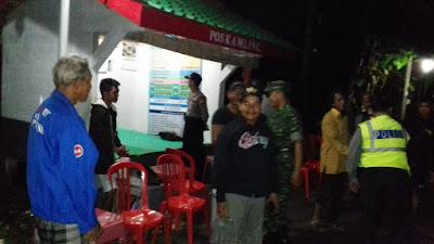 Desa Tunjungtejo Ikuti Lomba Siskamling Tingkat Kabupaten yang Gelar Oleh Polres Purworejo