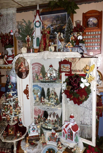 Christmas in the Den, Christmas Home Tour, 2017