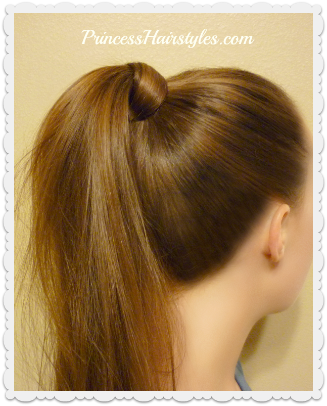 Ponytail With Hair Wrapped Around : ponytail, wrapped, around, Around, Ponytail, Hairstyles, Girls, Princess