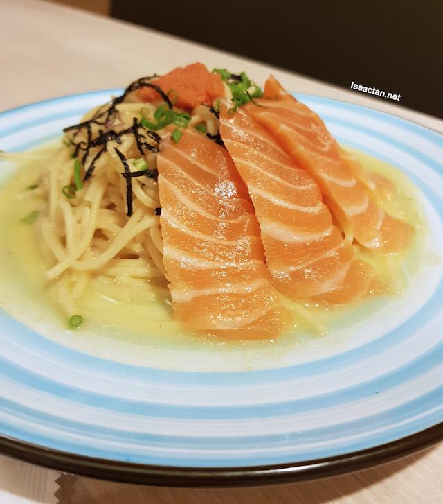 Salmon Mentaiko Spaghetti - RM36