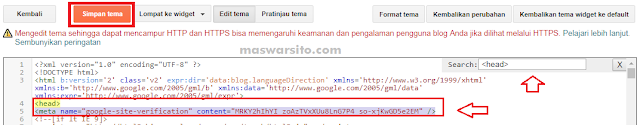 Cara Mendaftar Webmaster Tools Pada Blog