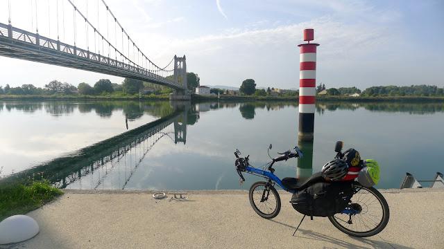 De Paris à Narbonne en vélo, La Voulte-sur-Rhône
