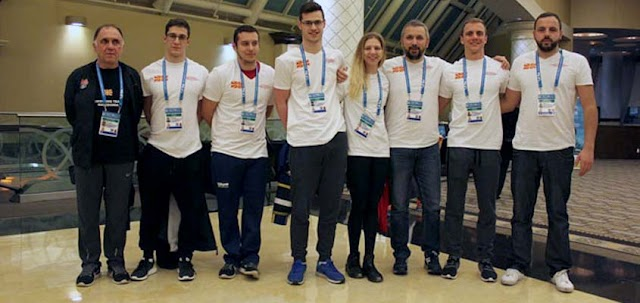 World swimming champs open, five Macedonian swimmers take part