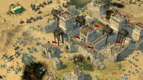Stronghold Crusader 2 PC Game Play