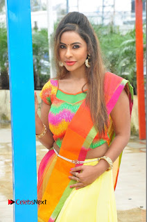 Actress Sri Reddy Pictures at Dandiya Navrang Utsav 2016 Curtain Raiser Event  0048.JPG
