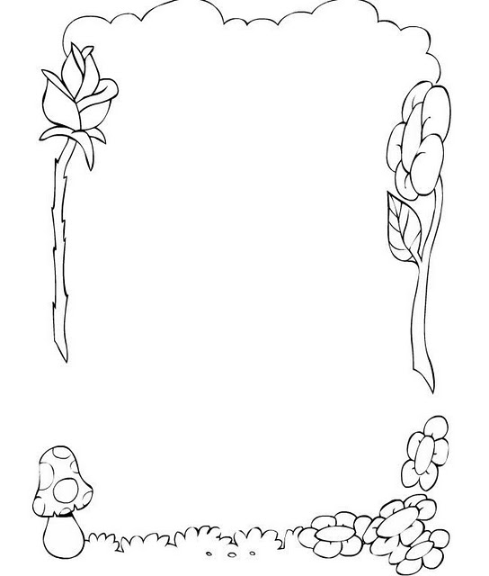 Dibujos Para Decorar Margenes De Cuaderno Imagui