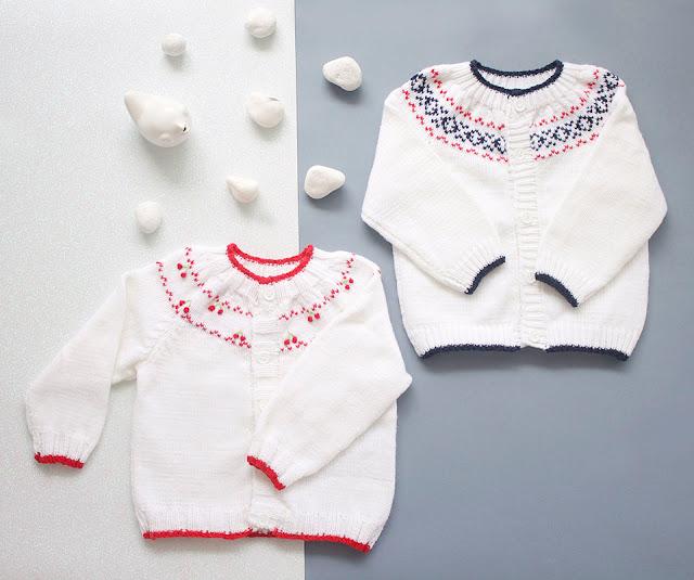 Saquitos tejidos para bebes invierno 2017. Moda invierno 2017 bebes.
