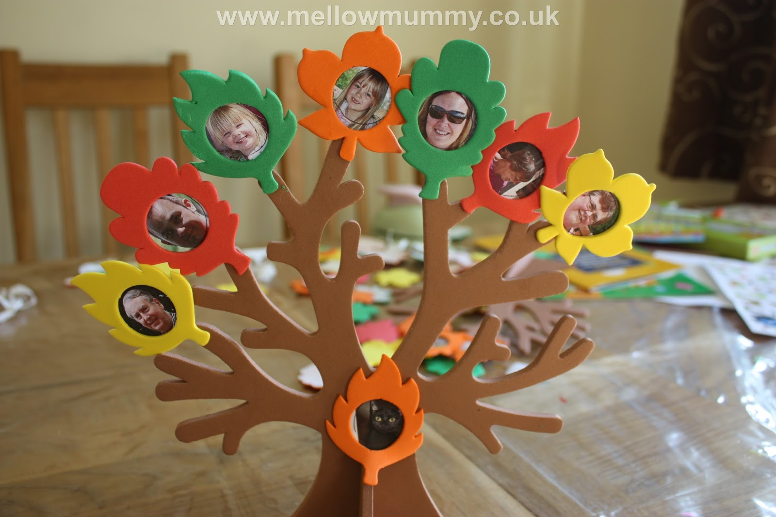 Mellow Mummy Autumn Inspired Craft Ideas From Yellow Moon Taking