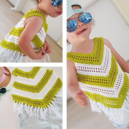 Little Girl Summer Top - Free Pattern