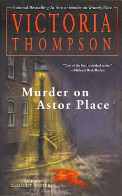 Murder on Astor Place by Victoria Thompson - book cover