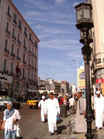 Calle Saad Zaghloul, Alejandría