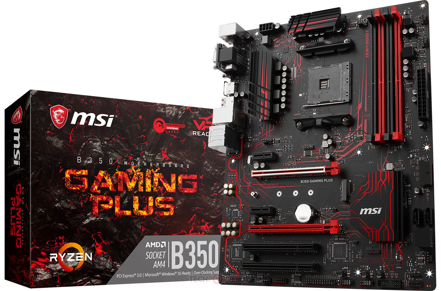 MSI B350 Gaming Plus Review ~ Computers and More | Reviews