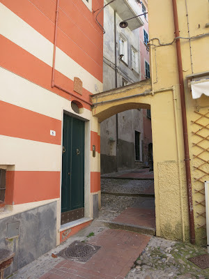 Site of locked gate for Jewish Ghetto, Lerici, Italy