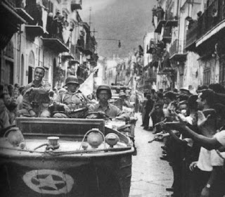 The American forces were welcomed as liberators by many ordinary Sicilian citizens