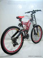 4 Sepeda Gunung EVERGREEN Quakeproof Bike 1.0 - Dual Suspension 26 Inci
