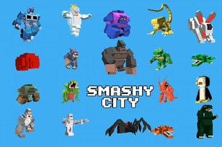 Games Smashy City v1.1.5 Mod Apk Terbaru 2017