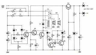 Free Circuit Diagrams: Speaker Protector Circuit with DC
