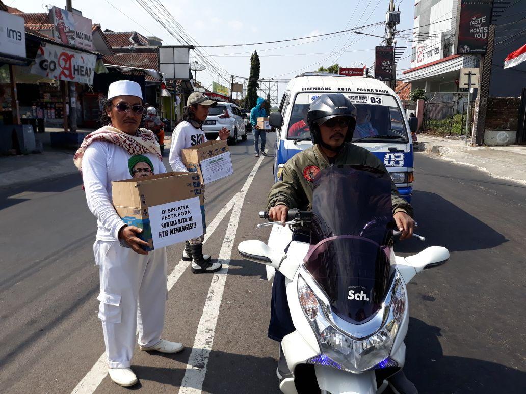 Fpi Kuningan Terus Lanjutkan Galang Dana Untuk Korban Gempa Ntb