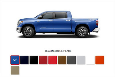 2017 toyota tundra colors