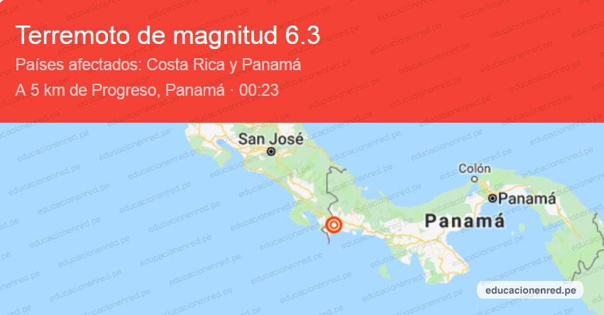 Potente sismo de magnitud 6.3 afecta a países de Panamá, Costa Rica y Nicaragua (Hoy Miércoles 26 Junio 2019) Temblor - Terremoto - Epicentro - Progreso - La Esperanza