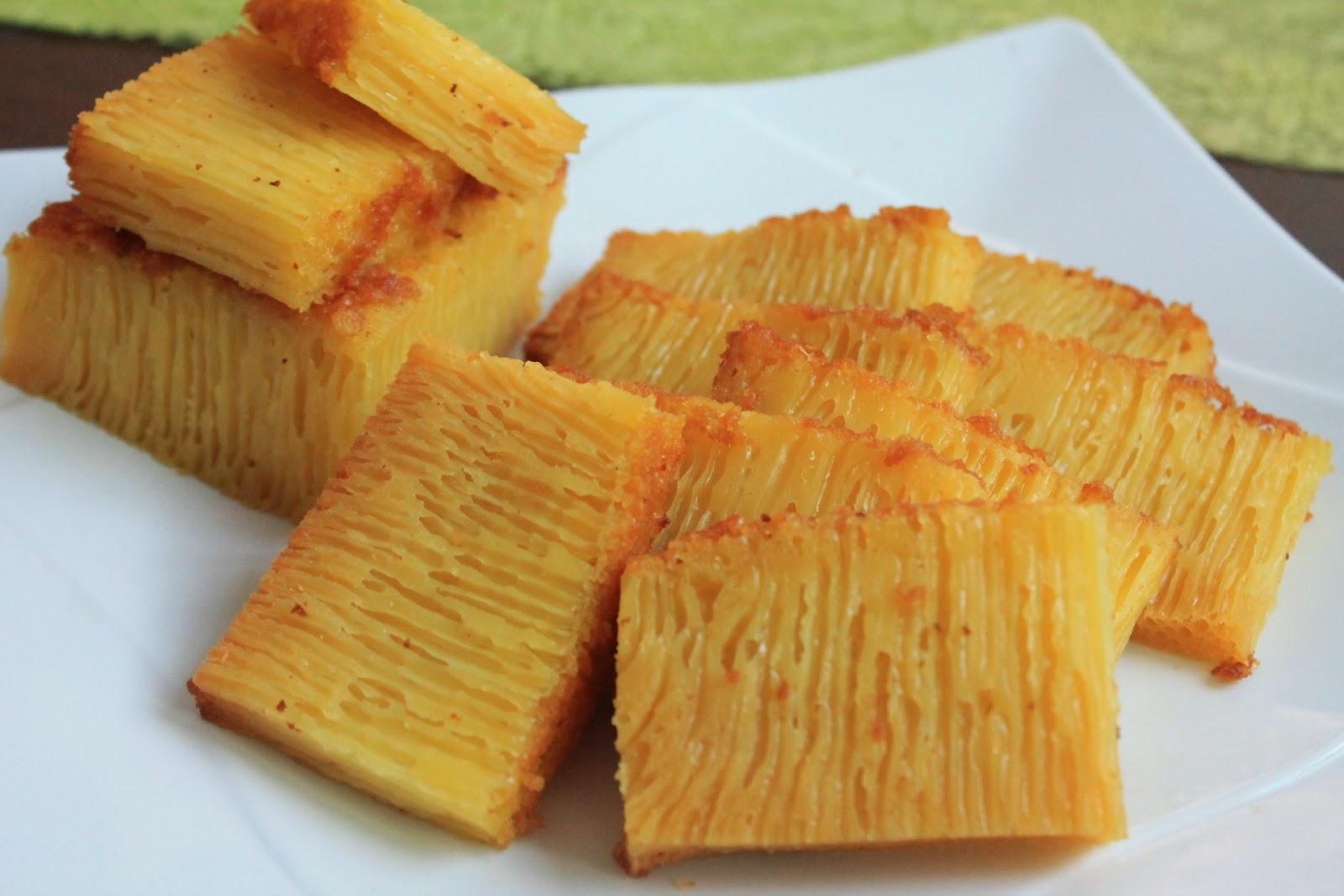 Indonesian Honeycomb Cake Recipe