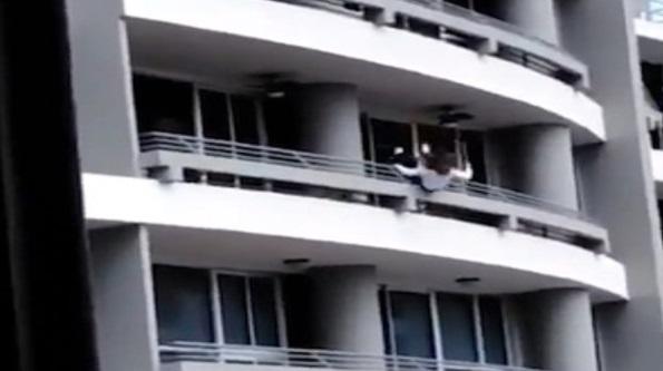Lalai Sesaat,Nyawa Melayang.Teruja Swafoto Di Balkoni Tingkat 27,Seorang Wanita Terjatuh Dan Temui Ajal
