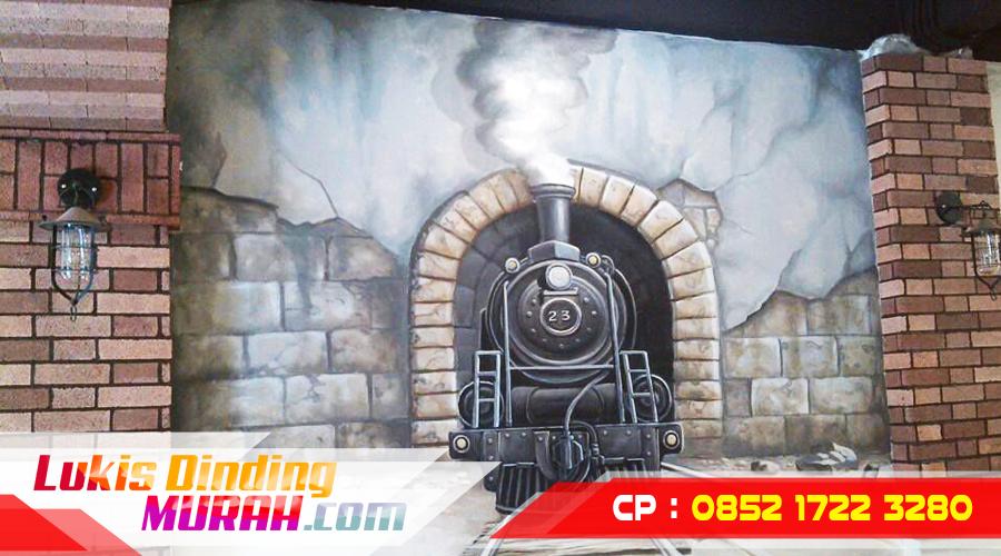 Galeri Gambar Lukisan Dinding Mural Seniman Profesional Jasa 3d